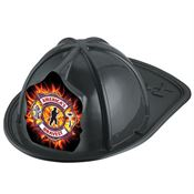 America's Bravest Black Firefighter Hat