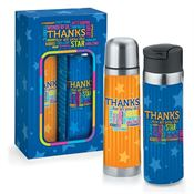 Thanks For All You Do Hot & Cold Beverage Gift Set