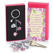 Charm Key Tag With Keepsake Card