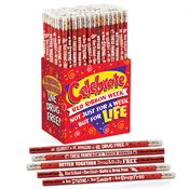 Red Ribbon Week 150-Piece Pencil Assortment Pack