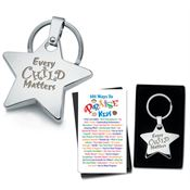 Every Child Matters Star Key Tag & 2-Sided Praise Card