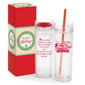 You're Appreciated Excel Hot/Cold 2-In-1 Tumbler Holiday Gift Set