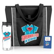 Superheroes In Scrubs Gift Trio