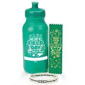 Make Every Day Field Day: Get Out & Play! Water Bottle, Bracelet, & Ribbon Combo