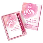2018 Be You Women's Monthly Planner & Pen Gift Set
