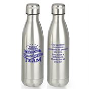 Proud Member Of An Awesome Housekeeping Team Denali Stainless Steel Vacuum Bottle