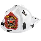 Dalmatian Firefighter Hat - Fire Safety Starts With Me