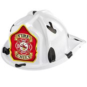 Fire Chief Dalmatian Firefighter Hat