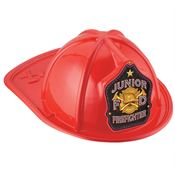 Junior F D Firefighter Red Hat
