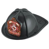 Junior Firefighter Fire Dept. Black Hat
