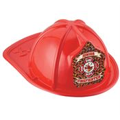 Junior Firefighter Fire Dept. Red Hat