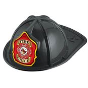 Fire Chief Black Firefighter Hat