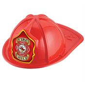 Fire Chief Red Firefighter Hat