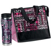 Words Of Inspiration Insulated Tumbler & Laminated Insulated Lunch Bag Gift Combo