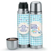 Food & Nutrition Services: Adding Flavor To Life Stainless Steel Vacuum Thermos 16-oz.