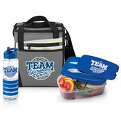 Team Environmental Services Water Bottle, Lunch Cooler Bag, Food Container Gift Set
