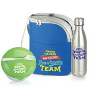 Housekeeping Team Round Food Container, Lunch/Cooler Bag & Vacuum Bottle Gift Set