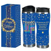 Thanks For All You Do Full-Color Holiday Travel Tumbler