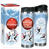 Proud Member Of An Awesome Team Full-Color Holiday Travel Tumbler