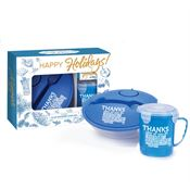 Thanks For All You Do Soup & Salad Gift Set in Holiday Gift Box