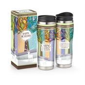 Caring Is Always In Season Full-Color Insulated Travel Tumbler With Holiday Gift Box