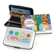 Caring Is Always In Season Identity Guard Aluminum Wallet With Holiday Gift Box