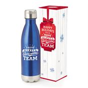 Proud Member Of An Awesome Team Denali Stainless Steel Vacuum Bottle With Holiday Gift Box 17-oz.