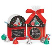Merry Christmas Mini Paper Tote With Hershey's® Kisses®
