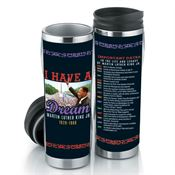 Martin Luther King Jr. Commemorative Insulated Tumbler 16-oz.