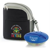 Teachers & Staff Appreciation Eastport Lunch/Cooler Bag & On-The-Go Food Container Combo