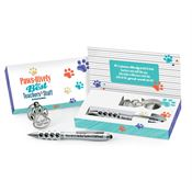 Paws-itively The Best Teachers & Staff Around Key Ring & Stylus Pen Set
