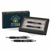 Thanks For Making A Difference Sayville Metal Stylus Pen & Pencil Gift Set With Teachers Gift Sleeve
