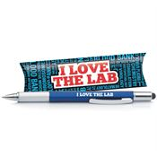 I Love The Lab Stylus Pen With Multi Tool & Pillow Box