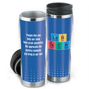 Lab Tech Periodic Table Full-Color Insulated Travel Tumbler