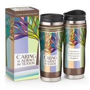 Caring Is Always In Season Full-Color Insulated Travel Tumbler