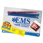EMS: Everyday Heroes Pencil Pouch Gift Set