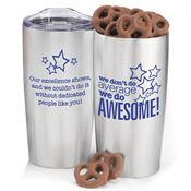 We Don't Do Average We Do Awesome! Everest Vacuum Tumbler Gift Set 20-oz.
