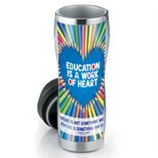 Education Is A Work Of Heart Insulated Tumbler 16-oz.