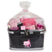 Deluxe Picnic Cooler Breast Cancer Awareness Gift Basket