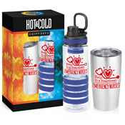 Emergency Nurses: Help In A Heartbeat Hot & Cold Beverage Gift Set
