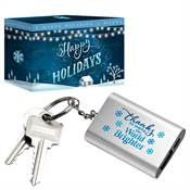 Thanks For Making The World Brighter Emergency Power Bank Key Tag in Holiday Gift Box