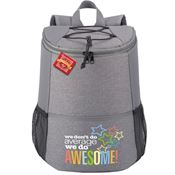 We Don't Do Average We Do Awesome Hemingway Backpack Cooler with Holiday Gift Card