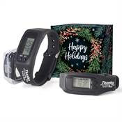 Thanks For Going The Extra Mile Fitness Watch Pedometer in Holiday Gift Box