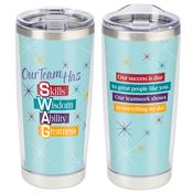 Our Team Has S.W.A.G Full-Color Insulated Tumbler 20-Oz.