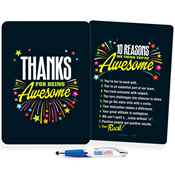 Thanks For Being Awesome Clipboard & Full-Color Pen Gift Set