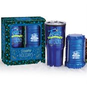 Thanks For Making A Difference Lantern & Tumbler Gift Set In Holiday Gift Box
