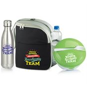 Housekeeping Team Round Food Container, Lunch/Cooler Bag, & Water Bottle Gift Set