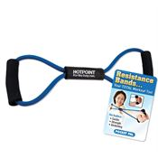 Exercise Resistance Band With Instructional Pocket Pal - Personalization Available
