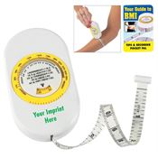 Body Tape Measure With BMI Calculator And Instructional Pocket Pal - Personalization Available