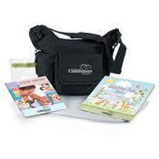 On-The-Go Insulated Sling Diaper Bag Combo Kit - Personalization Available